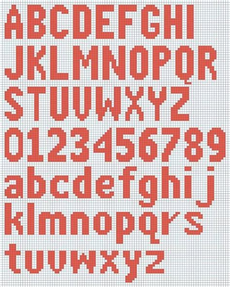 pattern numbers and letters free knitted alphabet and numbers chart courtesy of