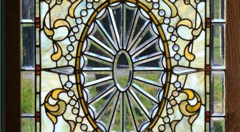 Door Wall Sticker Stained Glass With Bevels By Stained Glass Stickers For Doors