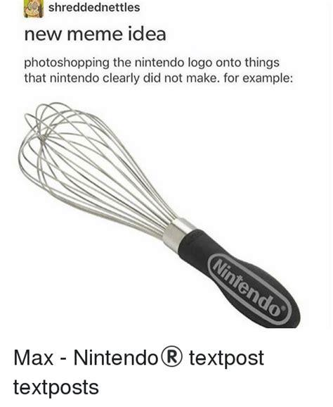 New Idea Meme - 25 best memes about nintendo logo nintendo logo memes