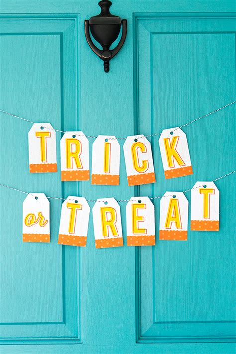 avery templates for banners printable halloween banner and treat bag toppers sarah