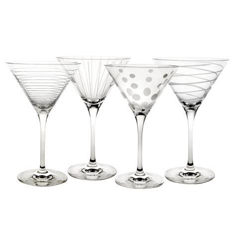 Buy Cheers Set Of 4 Martini Glasses Online At Mikasa Com