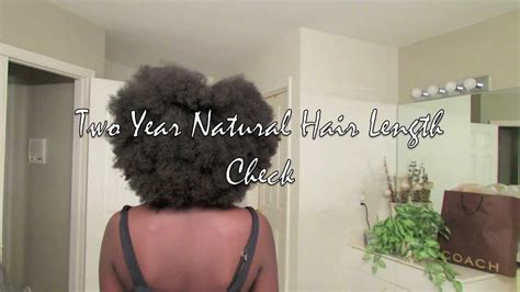 normal hair length for two year old two year natural hair length check youtube