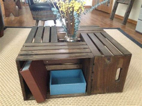 Rustic Crate Coffee Table 1000 Ideas About Crate Coffee Tables On Wine Crate Coffee Table Wine Crates And Crates