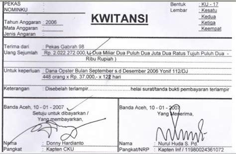 Contoh Bukti Pembayaran by Kwitansi 3 Loyerclub