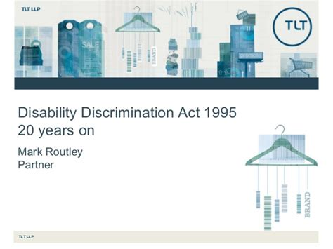 disability discrimination act 1995 20 years on