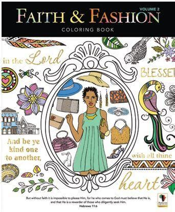 ellie s faith of volume 1 books coloring book faith and fashion vol 2 it s a black