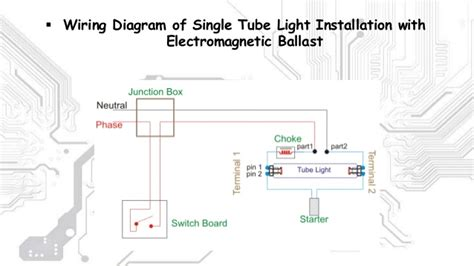 28 wiring diagram of light with choke and glow