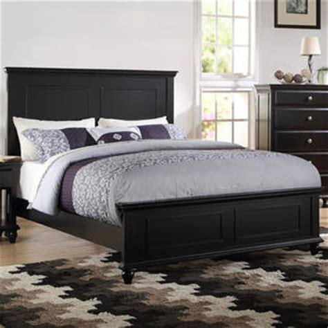 esofastore bedroom black wood bed frame headboard footboard rectangular sketched eastern king
