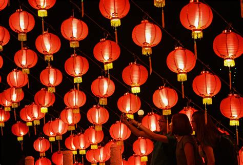 lanterns in new year new year lantern festival www pixshark