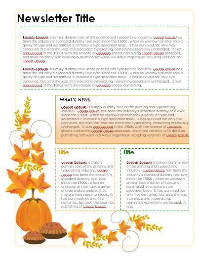 Free Teacher Newsletter Templates Downloads Newsletter Templates In Microsoft Word Format Free November Newsletter Templates