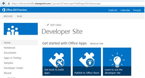 Office 365 Developer Portal Office365 Difference Between Office 365 Preview And