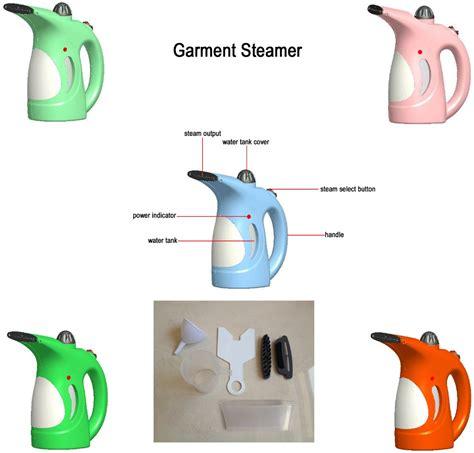 Electric Garment Steamer Brush Setrika Uap Handy 2017 handheld fabric iron steam laundry clothes electric steamer brush portable garment
