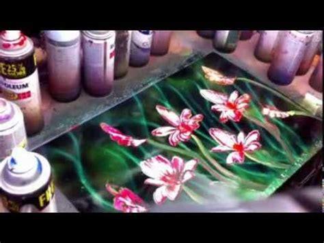 spray painting flowers spray paint flower