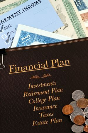 San Diego State Mba Financial Planning by The Contents Of A Professionally Created Financial Plan