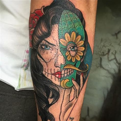 tattoo 3d caveira 60 tatuagens de caveira mexicana as fotos mais incr 237 veis