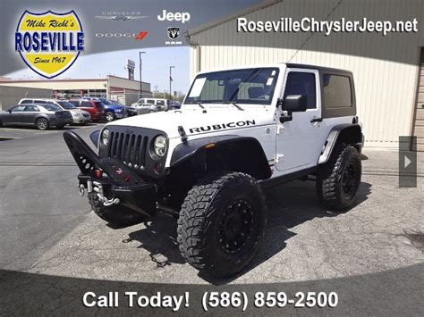 jeeps for sale michigan used jeep wrangler for sale in michigan