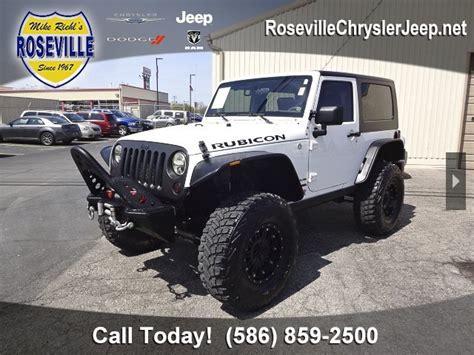 jeep rubicon for sale in michigan used jeep wrangler for sale in michigan