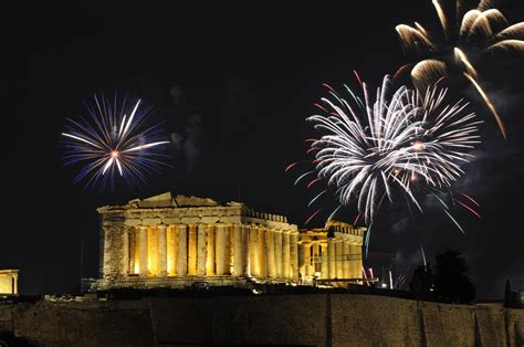 best spots to watch fireworks on new year s eve in greece