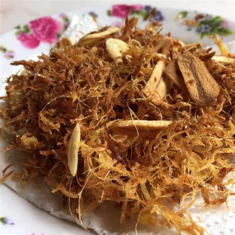 Yang Bagus Untuk Ibu resipi serunding halia bersama bawang putih bagus untuk