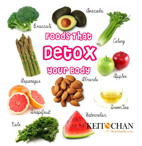 4 foods that detoxify your uk health news