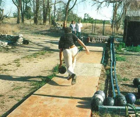 diy backyard bowling alley backyard bowling alley north american bowling homemade