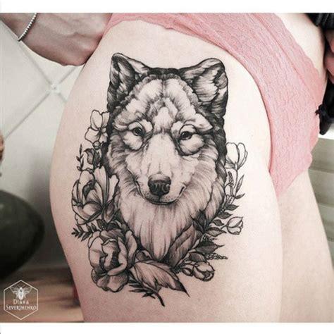 old school wolf tattoo meaning melhor ideia de design de tatuagens de lobo 25 para homens