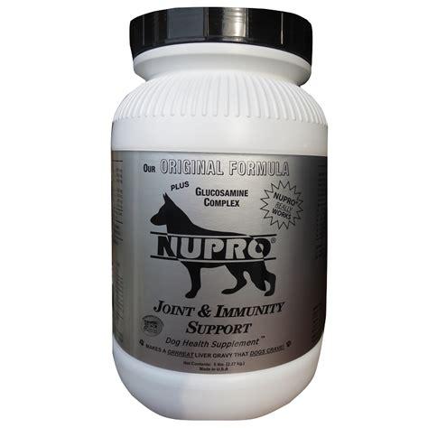 nupro supplement nupro joint immunity support supplement 5 lb naturalpetwarehouse