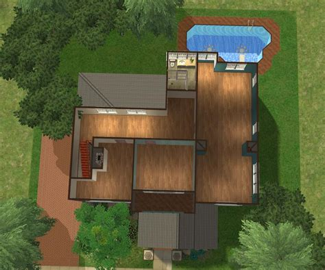 the oc house floor plan mod the sims berkeley house the o c