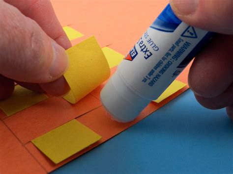 Best Glue For Paper Crafts - how to weave paper place mats friday craft projects