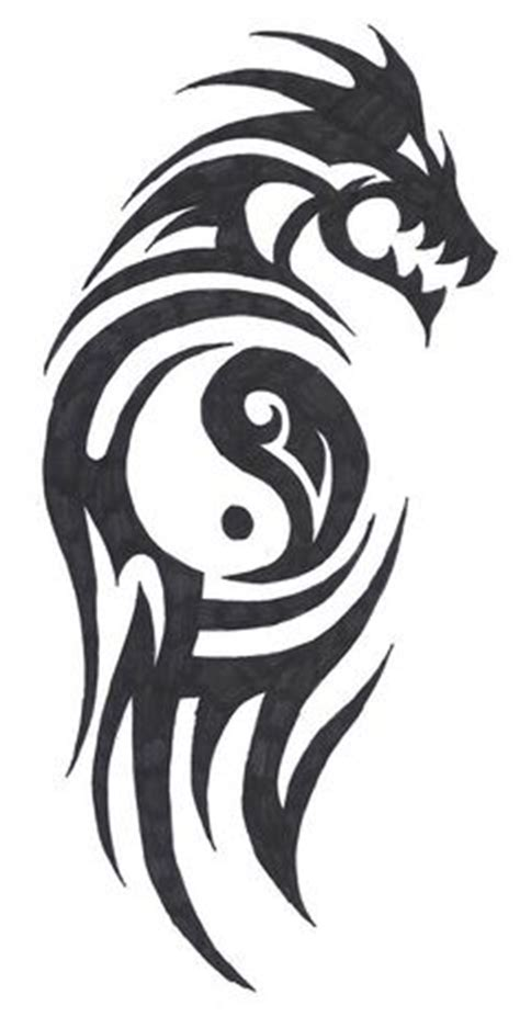 tiger tattoo yin and yang and tigers on pinterest