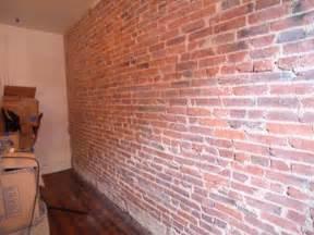 interior brick quot accent wall quot masonry contractor talk