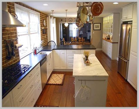 long narrow kitchen island table home ideas