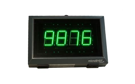 format video led large format numeric led displays microsyst