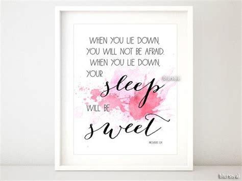 baby girl nursery quote print bible verse art nursery printable nursery quote art quot your sleep will be sweet