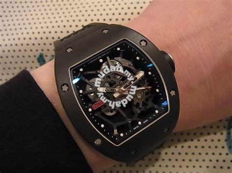 Richard Mille Rm035 Rafael Nadal Black richard mille rm035 rafael nadal edition swiss hour