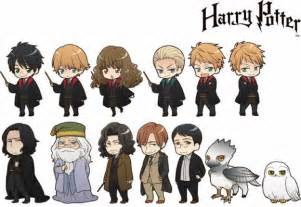 official harry potter anime characters squeal joy