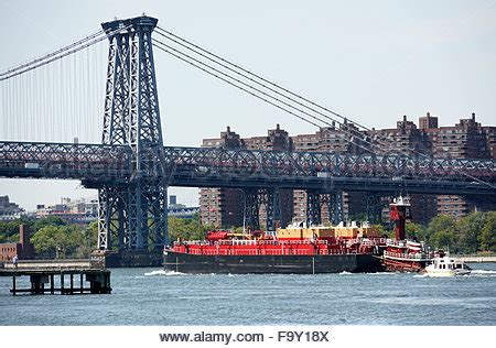 williamsburg bridge, view from the lower east side of
