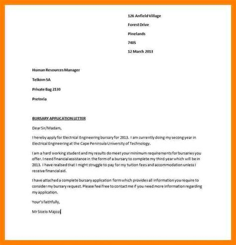 Resume Learnership Application Letter 8 cv to apply for learnership lease template