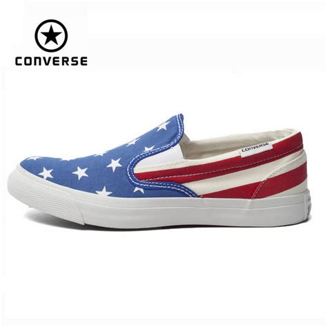 Converse As Slip 148695c original converse all shoes national flag color