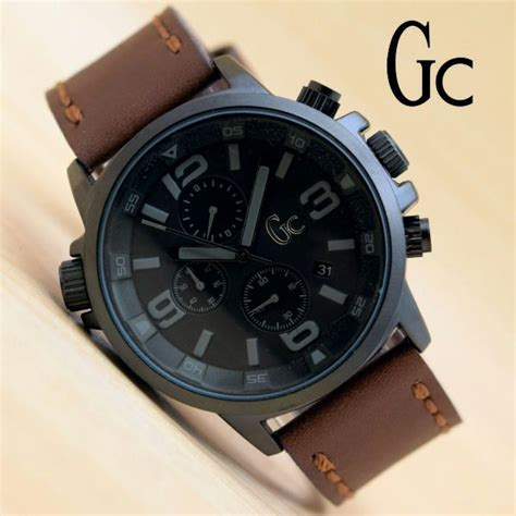 Supplier Jamtangan Wanita Gc Guess Collection Tali Kulit 1 jual jam tangan pria gc tali kulit chrono aktif harga murah