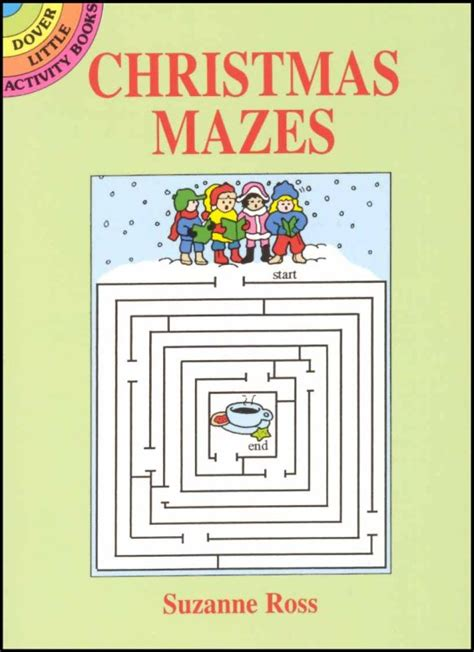 amazing mazes puzzle book 2 maze books for adults selena christmas mazes little activity book 018631 details