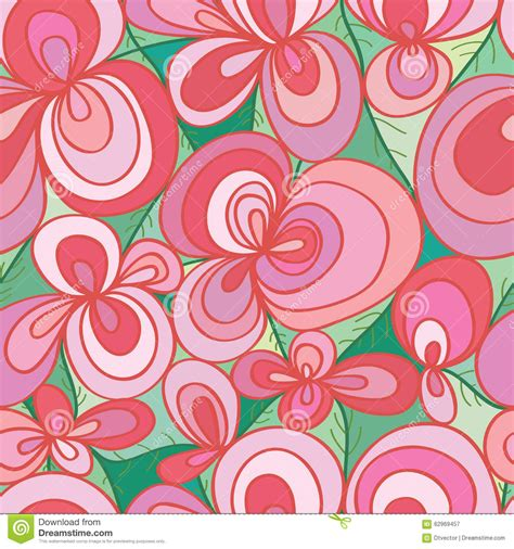 pastel graphic pattern flower pastel green color seamless pattern stock vector