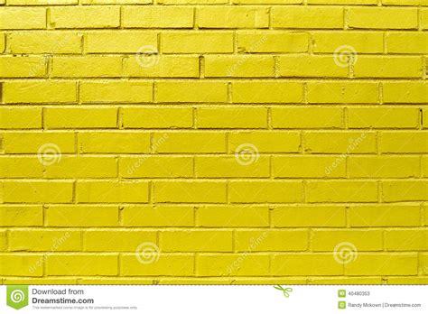 yellow brick wall stock photo image 40480353
