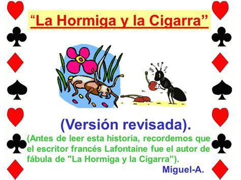 libro la cigarra y la la hormiga y la cigarra ppt descargar