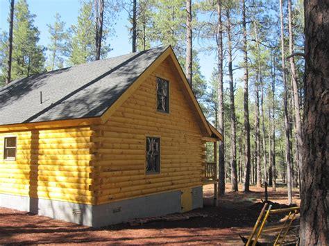 Williams Cabins by Stoney Creek Builders Inc Engineered Log Home Williams Az