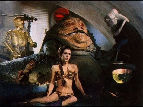 Princess Leia Murders Jabba The Hutt Arabian Style Youtube