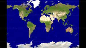 World Satellite Map by World Satellite Image Wall Map Mural Peel And Stick