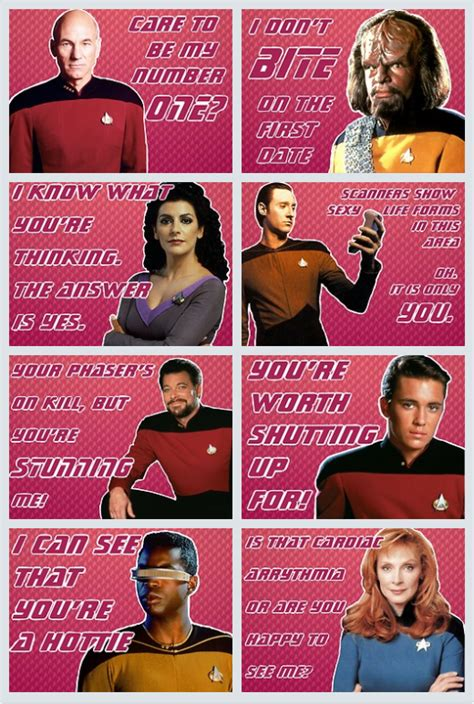 printable star trek valentines image 496481 star trek know your meme