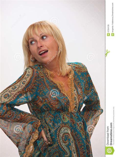 short hair blouse models fervent teasing girl stock photo image 57334135