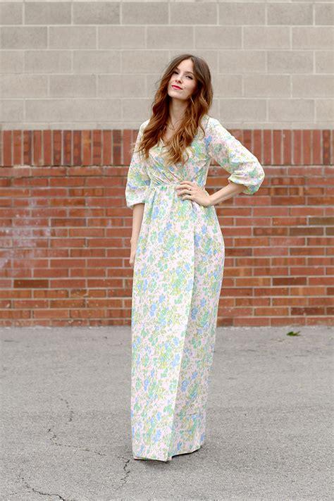 free pattern wrap dress diy peasant maxi wrap dress